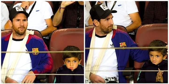 जब मेस्सी बार्सिलोनाको खेलको 'दर्शक' बने (हेर्नुहोस् ६ तस्बिरमा)