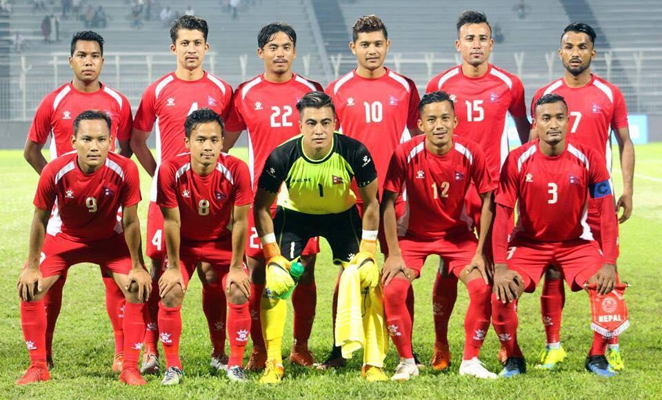 मैत्रीपूर्ण खेलका लागि नेपाली फुटबल टोली चाइनिज ताइपेई पुुग्यो