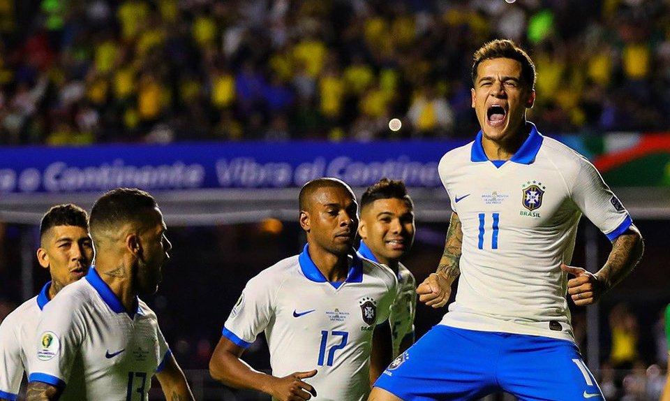 कोपा अमेरिका : ब्राजिलको शानदार विजयी सुरुआत, चम्किए कोउटिन्हो !