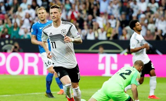 इस्टोनियाको पोस्टमा जर्मनीले हान्यो ८ गोल !