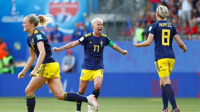 महिला विश्वकप : जर्मनीलाई हराउँदै स्वीडेन सेमिफाइनलमा