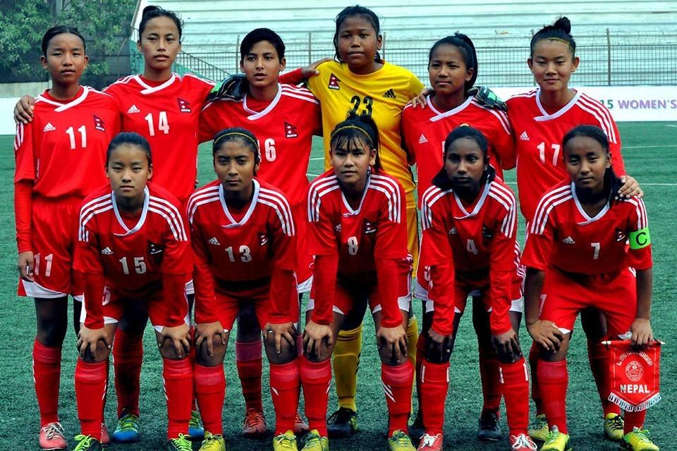 यु–१५ महिला साफ च्याम्पियनसिपमा पहिलो खेलमै नेपाल र भारत भिड्ने