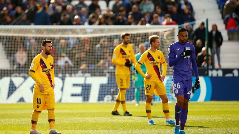 पहिलो हाफ : घरेलु मैदानमा लेगानेस १–० ले अघि !