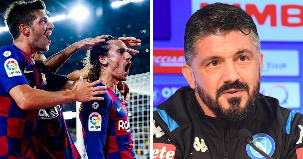 बार्सिलोनालाई नापोलीका नयाँ प्रशिक्षकको कडा चुनौती