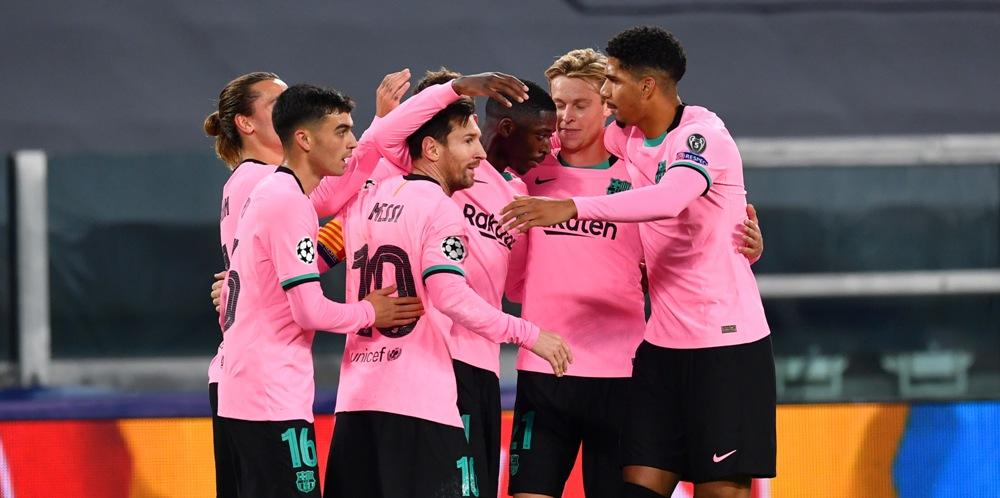 पहिलो हाफ : युभेन्टसको घरमा बार्सिलोना ०–१ ले अघि