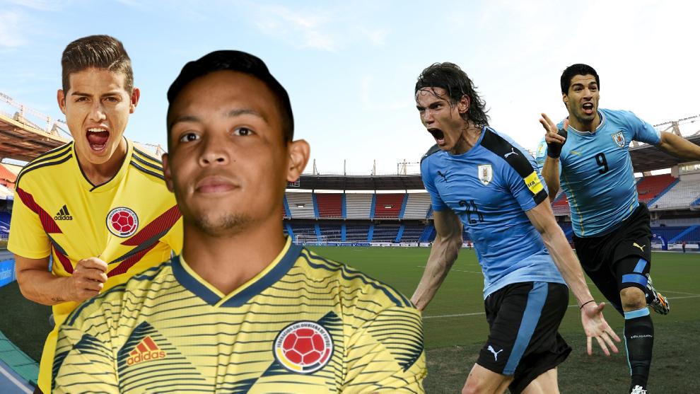 विश्वकप छनौट : कोलम्बिया र उरुग्वेको रोमाञ्चक खेल हुँदै