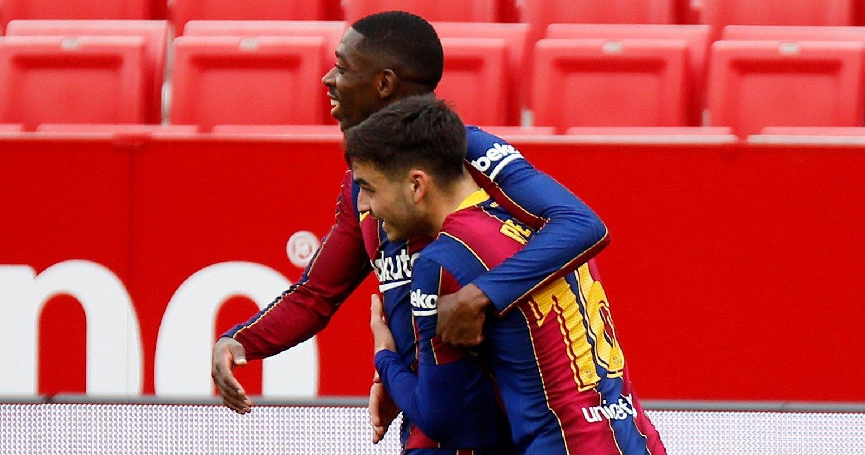 सेभिल्ला भर्सेस बार्सिलोना : पहिलो हाफमा बार्सिलोना ०–१ ले अघि
