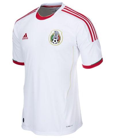 New Mexico Third Kit 20132014 Adidas White Mexico Jersey