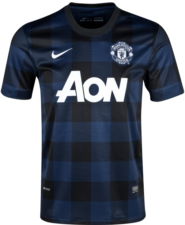 Here are the best reactions from fans. New Man Utd Away Kit 13/14- Manchester United Nike Away