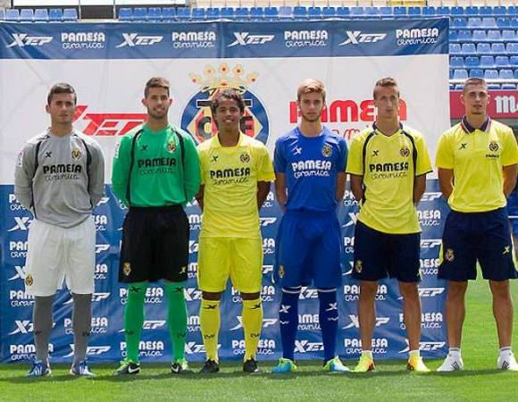 Villarreal Kit 2013 14