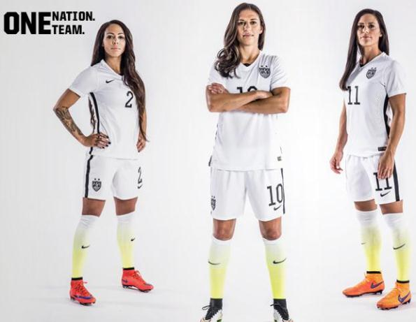 Usa Soccer Team Uniforms