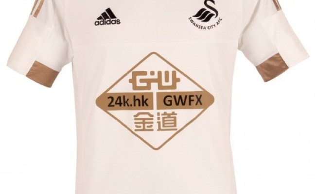 New Swansea Home Kit 15 16 Adidas Swans Unveil 2015 16