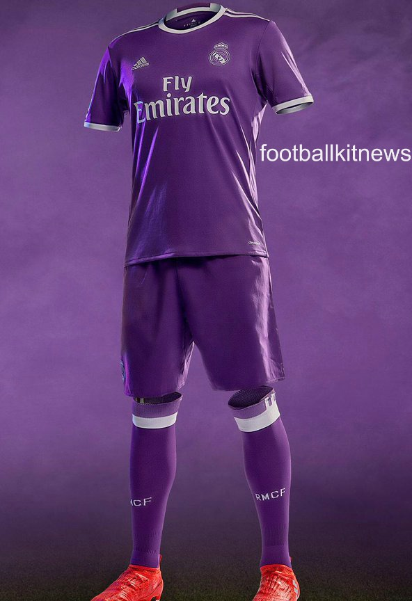 New Real Madrid Kits 2016/17 | Adidas unveil home & away ...