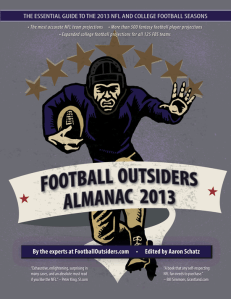The Football Outsiders 2013 Almanac