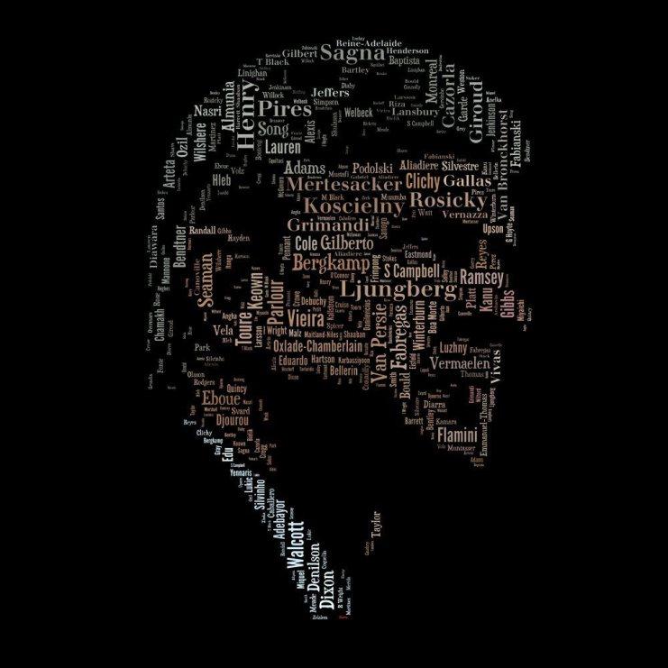 Arsene Wenger Illustration by @AGT79