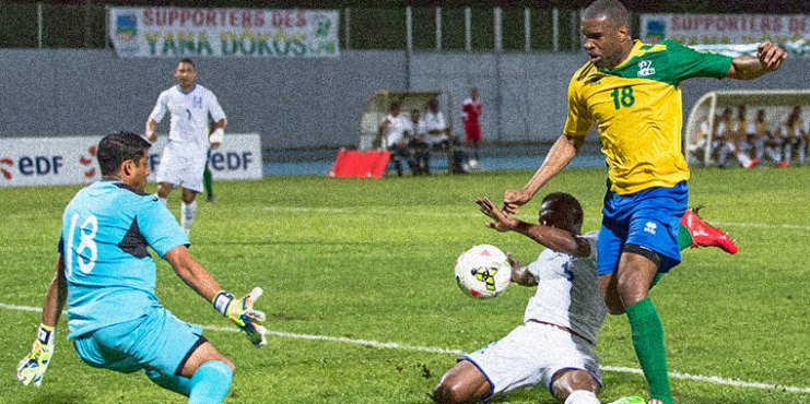 Sloan Privat scored 2 goals in French Guiana's CONCACAF Gold Cup playoff 1st leg win over Honduras