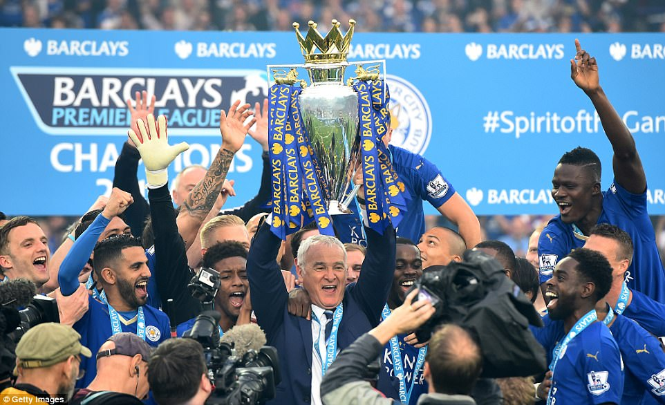 Claudio Ranieri was sacked on 23rd Feb 2017, nine months after winning the title.