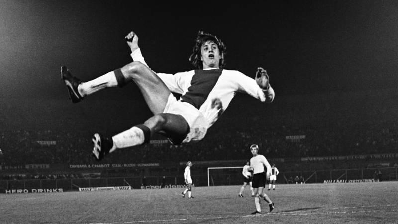 Cruyff at his inventive best at Ajax