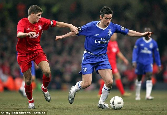 Steven Gerrard vs Frank Lampard