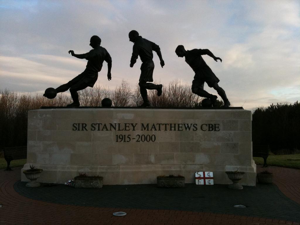 Sir Stanley Matthews CBE 1915 - 2000