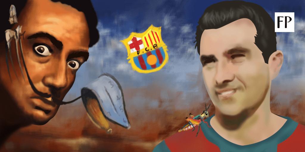 Salvador Dali's Favourite Footballer - Surrealista, Josep Samitier