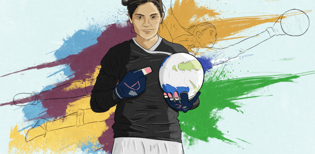 Aditi Chauhan: Between West Ham Ladies and India Women's XI, she's making her name at a sport few gave her a chance at.