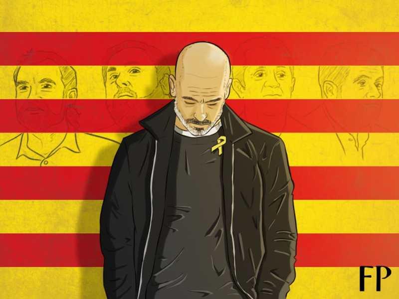 Homage to Catalonia - How Guardiola's Yellow Ribbon Reveals FA's Hypocrisy
