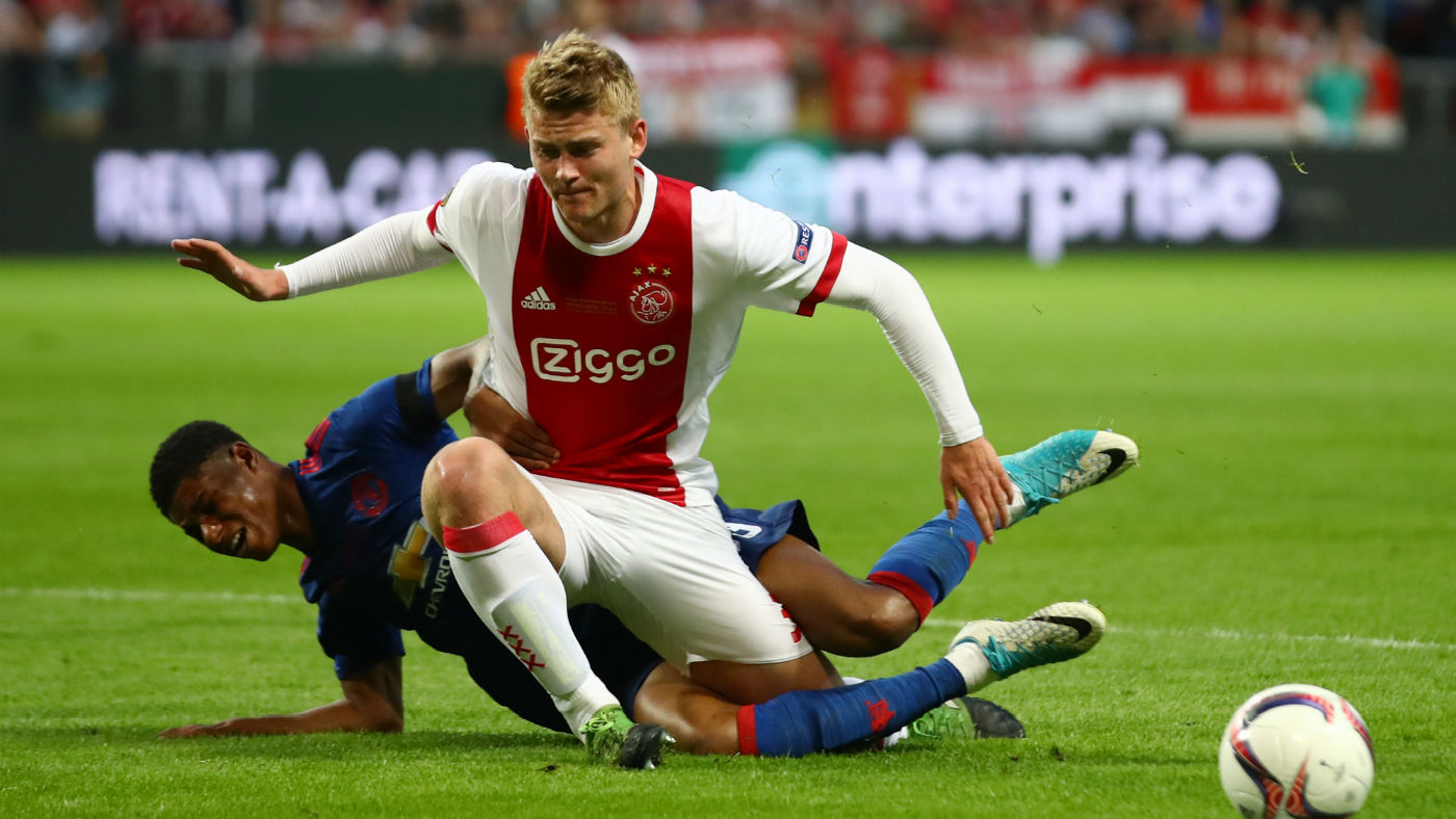 Matthjis de Ligt of Ajax FC