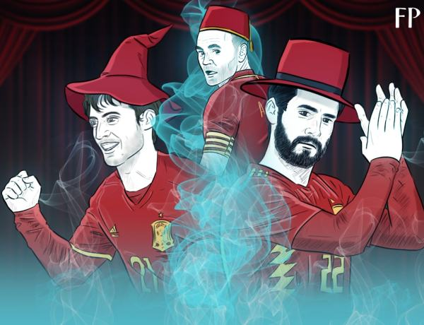 Iniesta, David Silva, Isco and The Biggest Show on the Planet