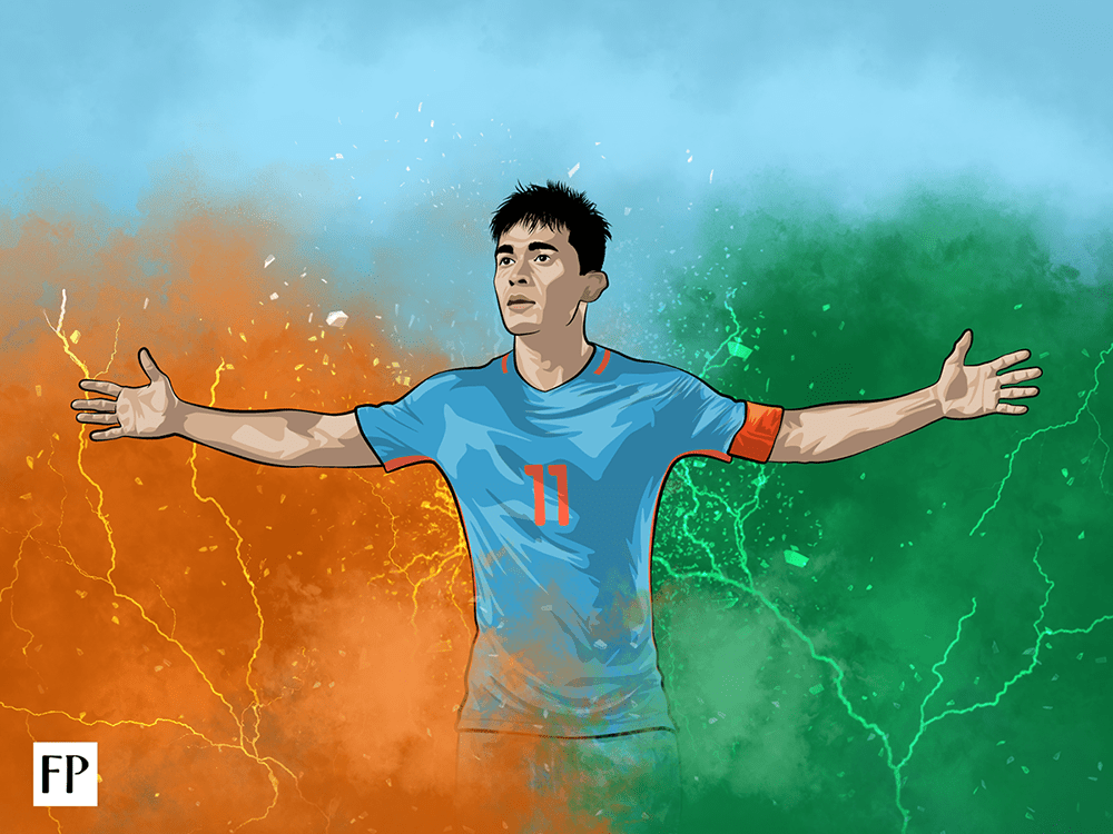Sunil Chhetri: The titan of Indian sport who's fighting the tough, but important battle for attention. If only his audience had the vision to support him.