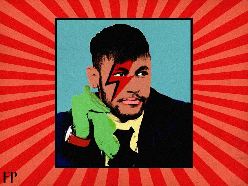 Neymar: The Starman. (Art by Debanjan Chowdhury)