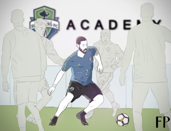 Clint Dempsey has been a massive influence at Seattle Sounders, and the it's safe to say his picture will adorn a fair few walls at the academy dorm rooms. (Art by Onkar Shirsekar)