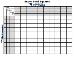 Super Bowl Squares: How To Win During Super Bowl XLIX