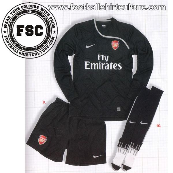 Arsenal GK kit 08/09