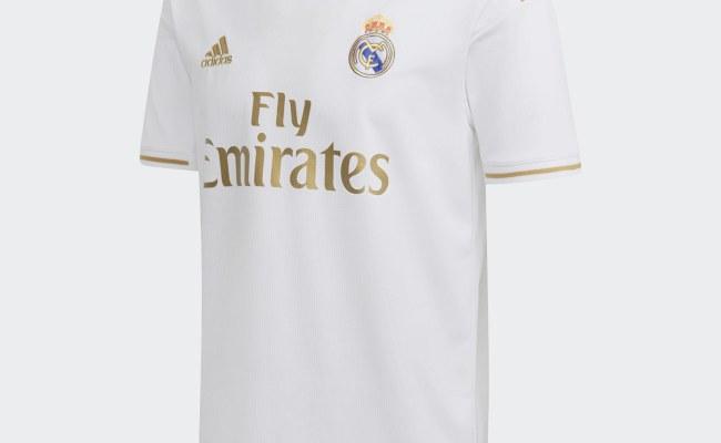 Real Madrid 2019 20 Adidas Home Kit 19 20 Kits