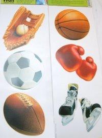 Main Street Wall Creations Jumbo Stickers - Sports ...