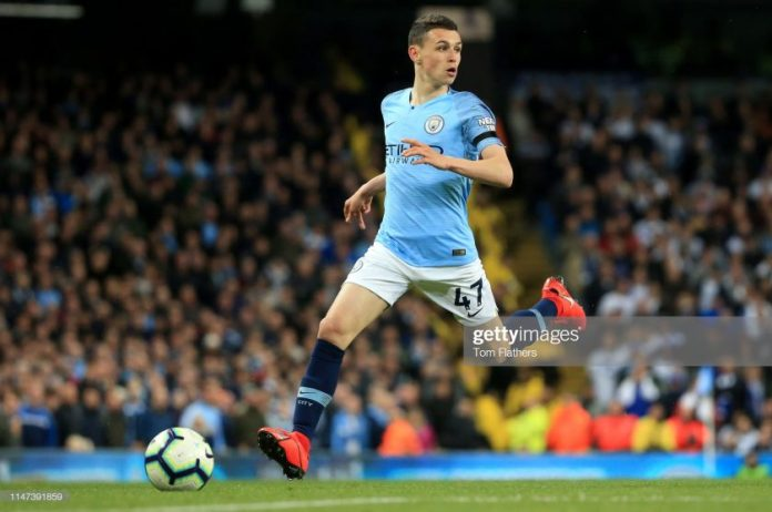 Phil Foden of Manchester City