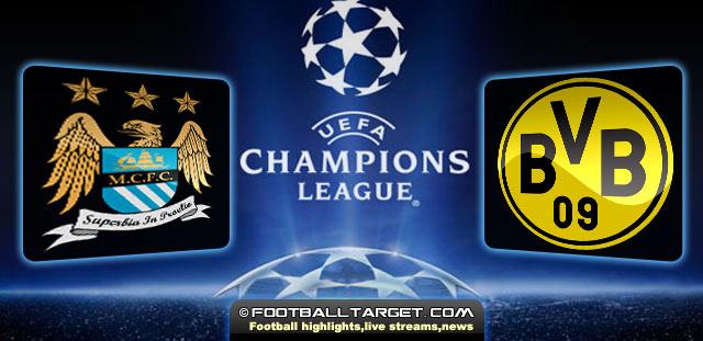 Manchester City vs Borussia Dortmund Preview ,Live stream