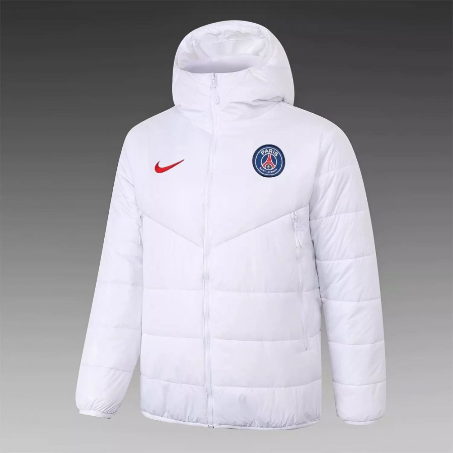 psg training winter jacket white 2020