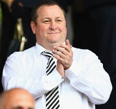 Mike Ashley - owner of Newcastle United