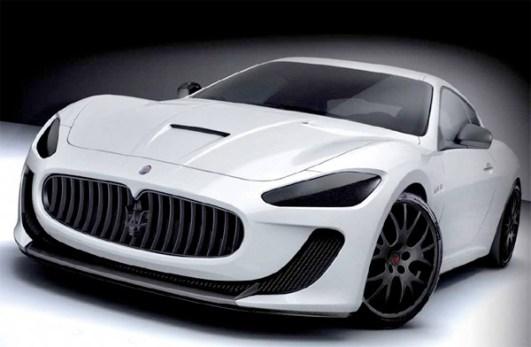 Maserati GranTurismo S Lionel Messi car