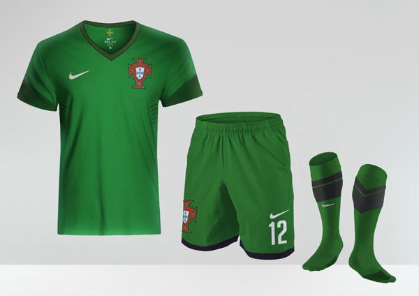 Second Kit of Goalkeeper