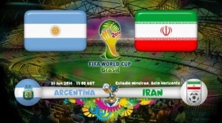 Argentina vs Iran Free Live Streaming