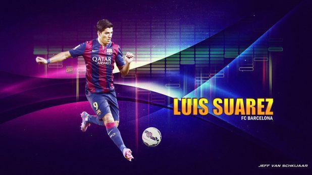 Barcelona 2014-15 Luis Suarez Wallpapers