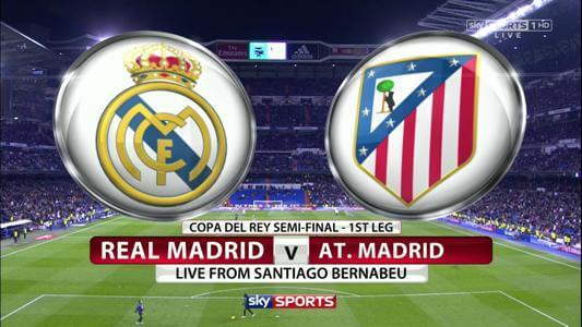 Real Madrid vs Atletico Madrid 2014 la liga
