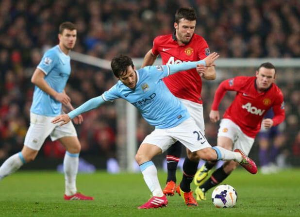 Man City vs Man United 2014 Preview