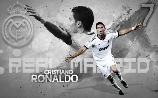 Cristiano Ronaldo HD Wallpaper in Real Madrid