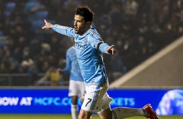 David Villa scored in debut for New York City FC