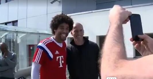 Dante with Zidane