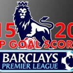 Premier League 2015-16 top goal scorers
